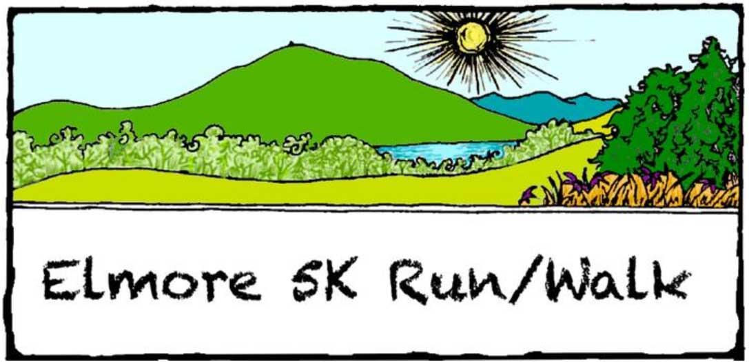 Elmore 5K Race Logo