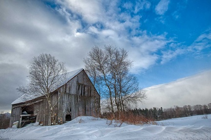 Elmore Mountain Road-Barn